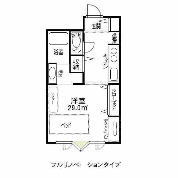 フルリノベーション 江坂アパートメント