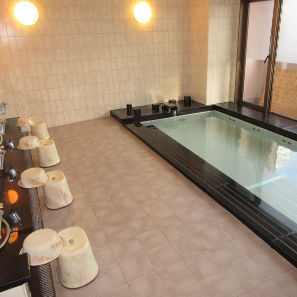 大浴場 クレイドル梅田
