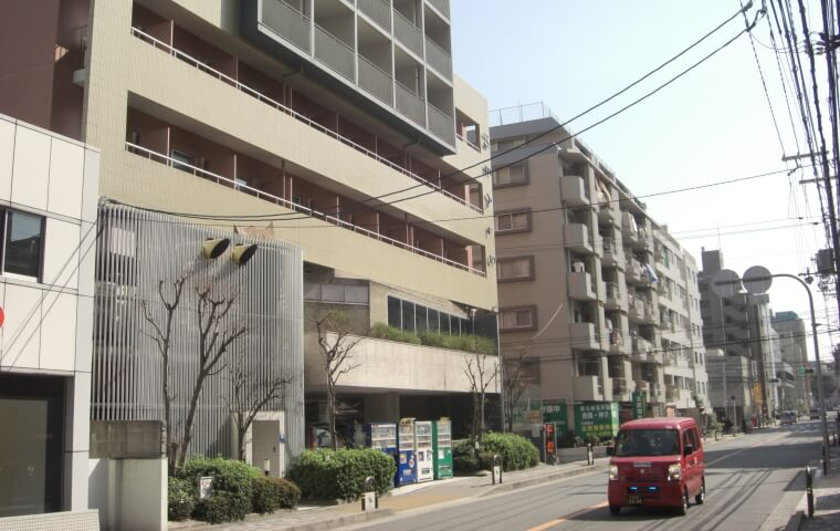 単身赴任の住みやすい人気の江坂