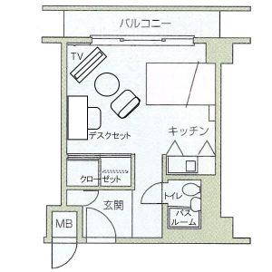 ラ・メール北大阪Bタイプ【85,000】