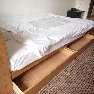 ベッド下収納:ミールズ江坂