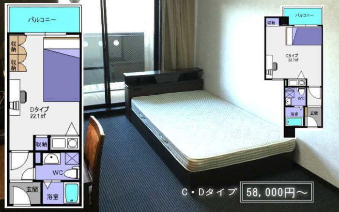 新大阪のお得な家具付き賃貸マンション