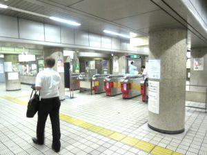 谷町四丁目駅-構内