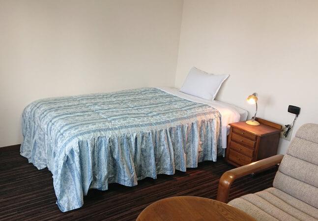 単身赴任の寝具一式付き賃貸