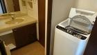 アスティオン梅田 洗面洗濯機
